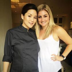 Michelin Star Mama! ⭐️ _tate_dining_rm Honored to do her makeup today for _hongkongtatler #tatedinin