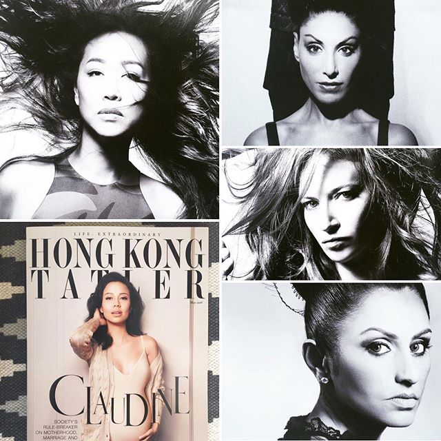 So excited to see the pages of the May issue of _hongkongtatler magazine and my work with these 4 be