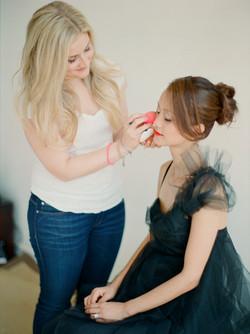 smudge makeup artistry bts