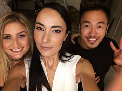 A makeup artist, a supermodel and a hair stylist walk into a bar......