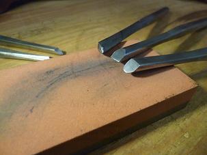outillage graveur métal
