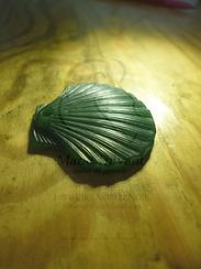 coquillage cire bronze