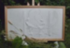 décor bas relief céramique