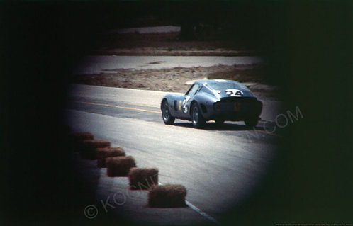 "045-Ferrari 250 GTO, (Second car from production line) Graham Hill, Oliv 18""x27"""