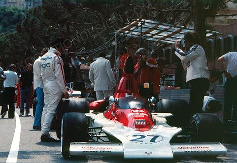 109-Mario Andretti, Parnelli Brabham BT45B, F1 Monaco 1975