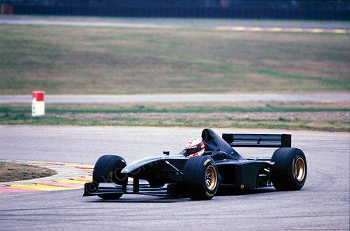 "039-Michael Schumacher Ferrari Pista di Fiorano Testing 1988 18""x27"""