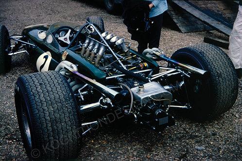 "022-Denny Hulme Brabham BT20 Race of Champions Brands Hatch 1967 18""x27"""