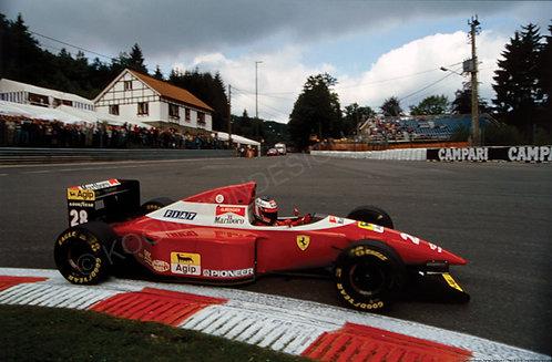 171-Gerhard Berger, Ferrari, Belgium F1 1993