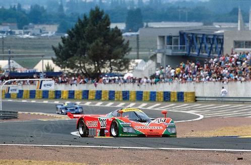 "032-Yorino-Katayama-Terada, Mazda 24 Hours Lemans 1990 18""x27"""