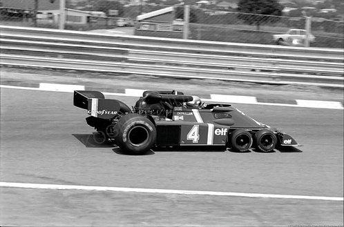 120-Tyrrell P34, Patrick Depailler , F1 Spain 1976