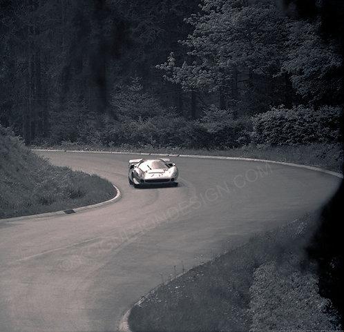 069-Norinder-Widdows, Lola T70, Nurburgring 1000 Km 1968
