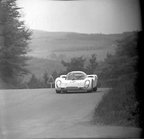 137-Herrmann,Stommelen, Porsche Nurburgring 1000Km 1968