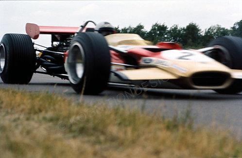"065-Jochen Rindt, Lotus 49B 1969 18""x27"""