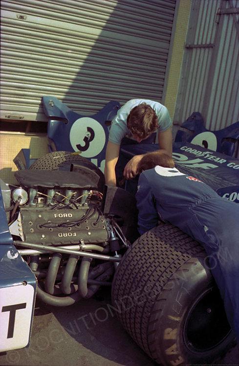 115-Tyrrell-ELF, Nurburgring F1 Germany 1974