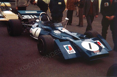 133-Jackie Stewart, Tyrrell 003, Silverstone Intl, 1971