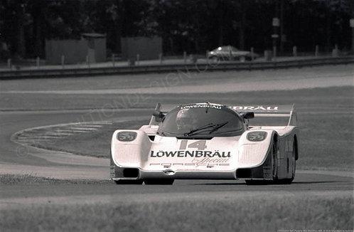 151-Derek Bell, Porsche 962, Mid-Ohio 1984