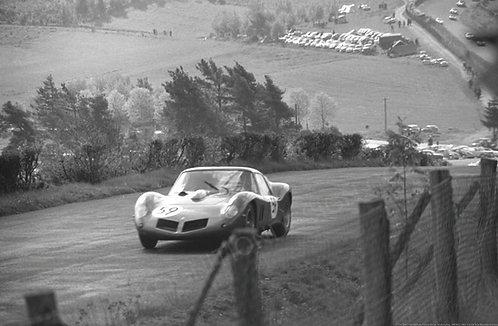 141-Elde, Van Ophem, Ferrari Drogo, Nurburgring 1000 Km. 1963