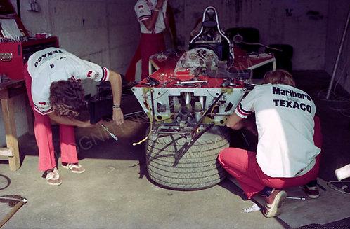 "029-McLaren M23 Marlboro Team F1 Germany 1974 18""x27"""