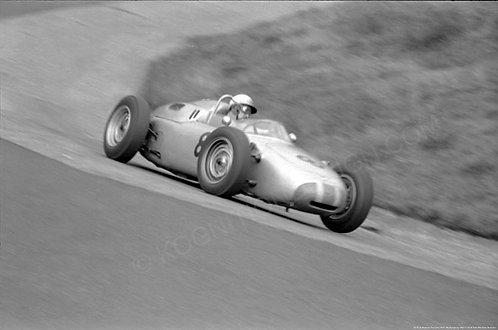 """014  Jo Bonnier Porsche 718 F1 Nürburgring 1961  18""""x27"""""""