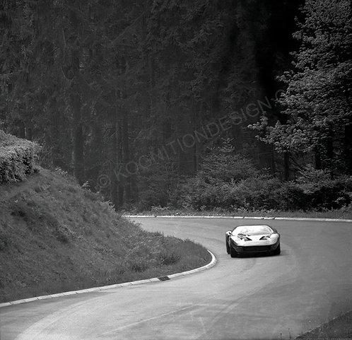 096-Sadler-Green, Ford GT-40 Nurburgring 1000Km. 1968