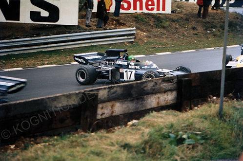 "040-Henri Pescarolo. March 721, F1 Victory Race 1972 18""x27"""