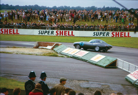 "047-Dick Prothero, Jaguar E Type, Goodwood Tourist Trophy 1963 18""x27"""