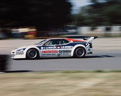 083-Hans-Stuck, BMW M1 Germany 1982