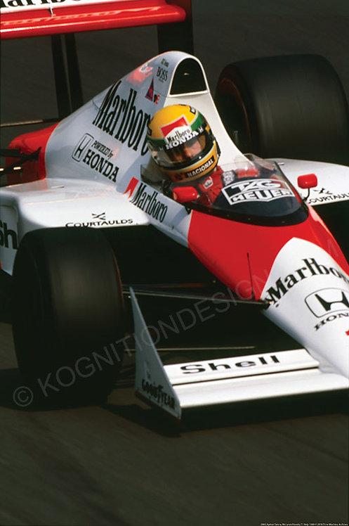 086-Ayrton Senna, McLaren-Honda, F1 Italy 1989
