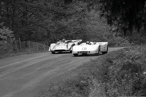 085-Hans Hermann, Porsche 908-03, Nurburgring F1 1970