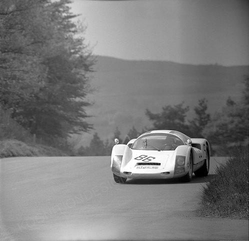 175-Fischhaber-Leuze, Porsche 906 F1 Nurburgring 1968
