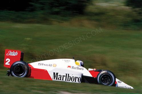 172-Keke Rosberg, Ferrari, F1 Belgium 1986