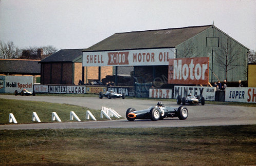 "067-Graham Hill BRM P-261, Aintree 200, 1964 18""x27"""