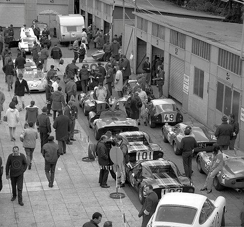 """038-Nurburgring Pitlane 1000km 1968 36""""x36"""""""