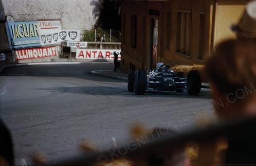 """007-F1 Bruce McLaren McLaren M2B Monaco 1966  18""""x27"""""""
