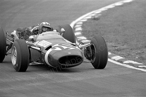 107-Jo Siffert, Cooper-Masarati, F1 Britain 1966