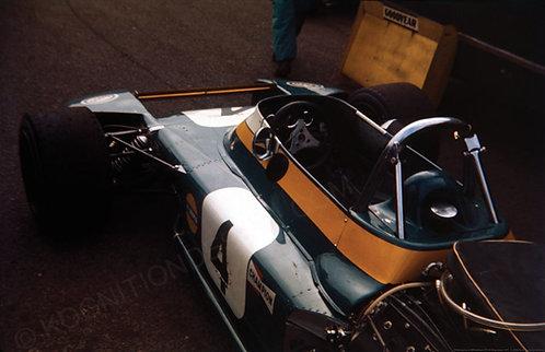"036-Graham Hill Brabham BT34 Silverstone 1971 18""x27"""