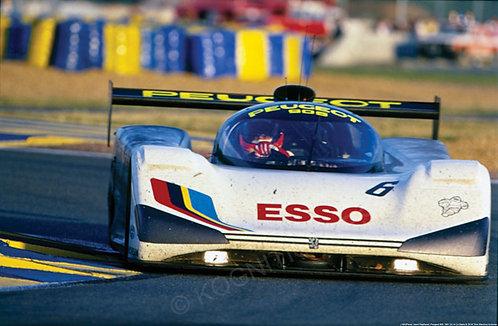 165-Pierre- Henri Raphanel, Peugeot 905 1991 24 Hr Le Mans
