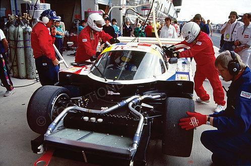 116-Piper-Jacobelli-Ricci, Spice SE89C, 24 Hrs Le Mans 1991