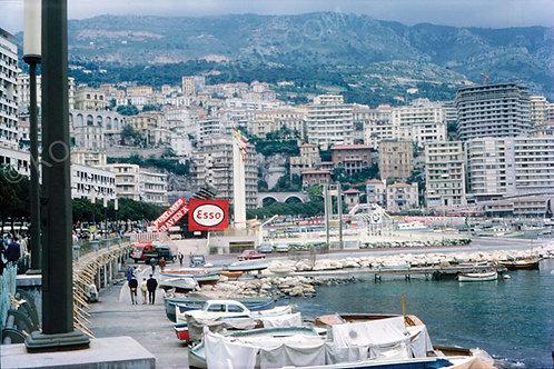 """015-Monte Carlo Monaco F1 1962  18""""x27"""""""