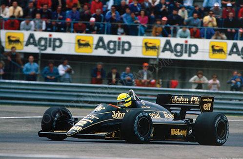 113-Ayrton Senna, Lotus 985-T F1 1986