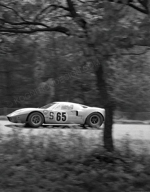 079-Ickx,Hawkins, Ford GT-40 Nurburgring 1968