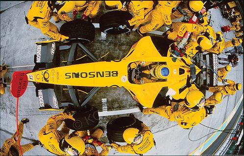 168-F1 Team Jordan, Honda, Alesi,Frentzen,Trulli,Zonta 2001