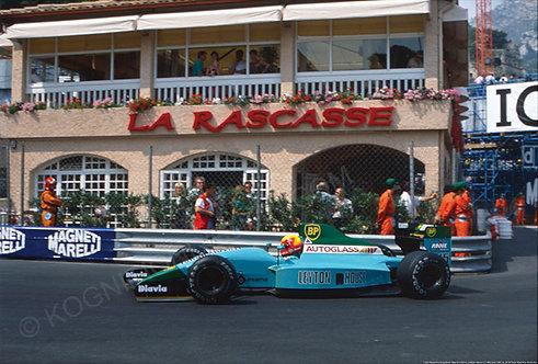 105-Mauricio Gugelmin, March CG911, Leyton House F1 Monaco 1991