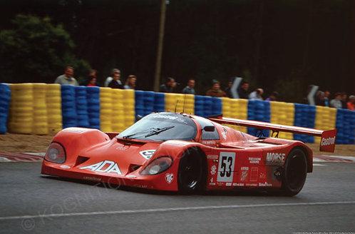 114-D.Bell-J.Bell-Needel, Porsche 24Hr Le Mans, 1992