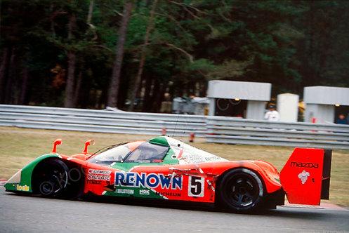 143-Maurizo Sandra Sala, 24 hour Le Mans 1992