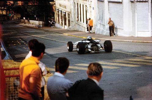 """020-Bruce McLaren-McLaren M2B Monaco F1 1966 18""""x27"""""""