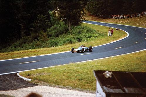 "041-Dan Gurney, Brabham, ACF Rouen F1 GP 196418""x27"""