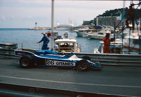 140-Jacques Laffite, Ligier, F1 Monaco 1978
