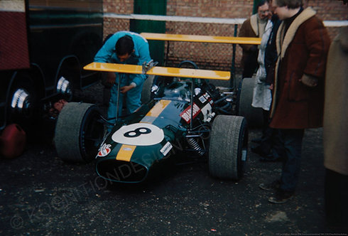 "026-Brabham BT26-Jack Brabham Silverstone International 1969 18""x27"""