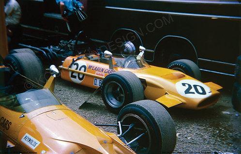 """001-McLaren-M9A-AWD-D.Bell 1969  18""""x27"""""""